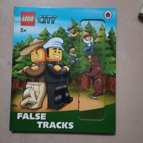 LEGO City: False Tracks Storybook with Minifigures and Accessories  乐高城市:书,迷你人仔和砖块