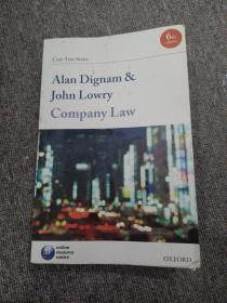 Company Law (公司法)第5版 作者:Alan Dignam & John Lowry 英文原版