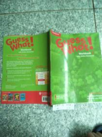 Guess What ! Workbook 3 (你猜怎么着!工作手册3) 原版  没勾画