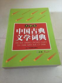 大学生中国古典文学词典