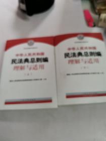 《中华人民共和国民法典总则编理解与适用》(上下)