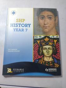 SHP History Year 7: Pupils Book【英文原版 16开平装 多彩图】外文看图 以图 为准