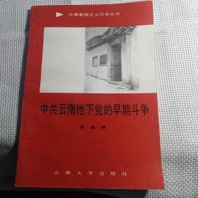 《中共云南地下党的早期斗争》【品好如图】