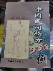 中国民间秘方3000例
