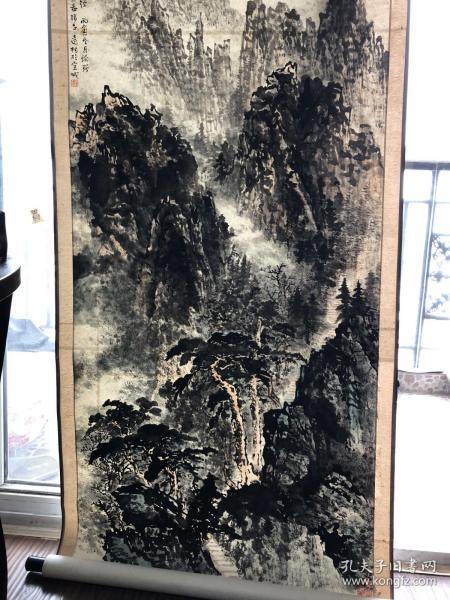 已故著名画家韦远柏老师四尺精品山水