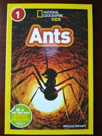 National Geographic Readers: Ants 【正版全新】
