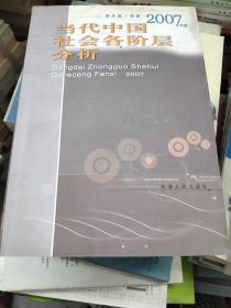 当代中国社会各阶层分析