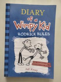Diary of a Wimpy Kid 2-RODICK RULES 英文原版24开 正品近新  少儿绘本。