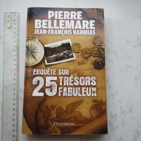 Enquête sur 25 trésors fabuleux 法语法文法国