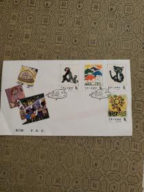 T.86儿童画选 特种邮票 首日封