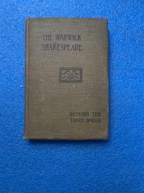 (民国版) THE WARWICK SHAKESPEARE : Richard the third   ( 布面精装)