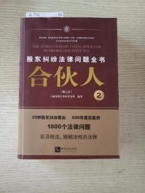 合伙人——股东纠纷法律问题全书(第二版)
