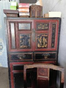 古代书柜(货自提)