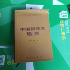 中國新罪名通典(精裝 2003-06-01)