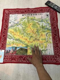 雪岳山 布地图 韩国