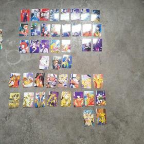 圣斗士卡,44张不重复 合售,出售后概不退换﹚