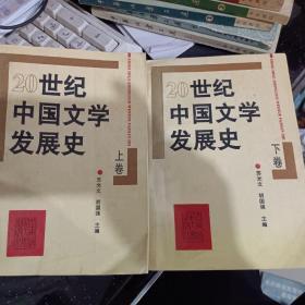 20世纪中国文学发展史(上下卷)全
