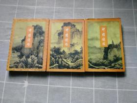 神雕侠侣(1.3.4册)金庸武侠小说