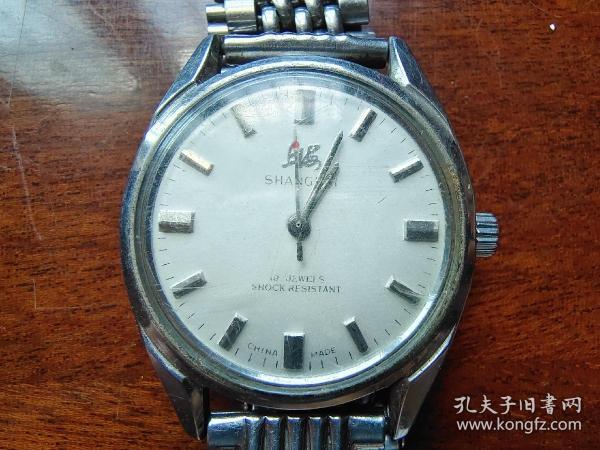 70年代上海牌 机械手表