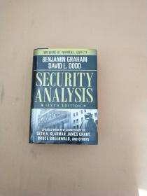 Security Analysis:Sixth Edition, Foreword by Warren Buffett 证券分析 第六版(英文原版 精装)