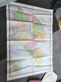 山东省地图 1981年