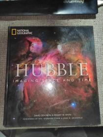 HUBBLE:IMAGING SPACE AND TIME【英文原版】哈勃宇宙太空探索铜版纸画册(美国国家地理)硬精装