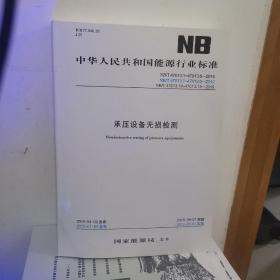 NB/T47013.1-47013.13承压设备无损检测