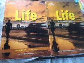 Life Intermediate   WORKBOOK & Student's Book SECOND EDITION 英文原版 生命:中级 学生用书及练习册  两册合售 第二版