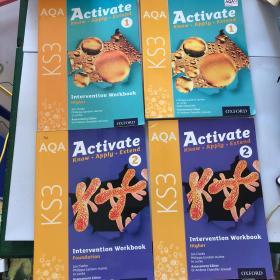 AQA  Activate  for   KS3  1+2共四本合售见图