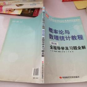 概率论与数理统计教程(第五版)全程导学及习题全解