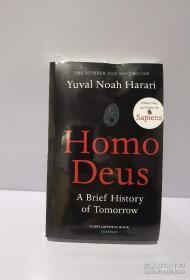 Homo Deus: A Brief History of Tomorrow,未来简史,瑕疵如图,英文书