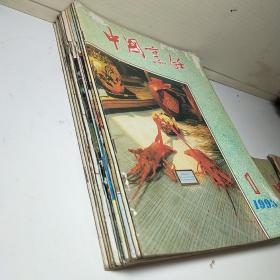中国烹饪 1993年   11本合售 (缺9)