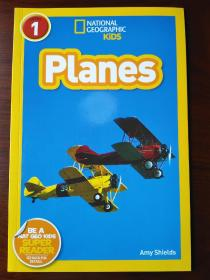 National Geographic Readers: Planes 【正版全新】