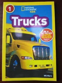National Geographic Readers: Trucks 【正版全新】
