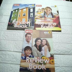 VIP KID Review Book Leve2(1-3、4-6、7-9)三本合售