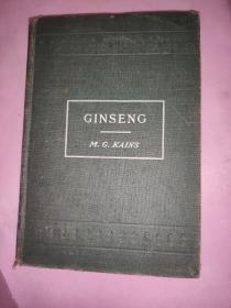 GINSENG【英文原版民国中央大学】