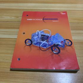 美国中小学科学教材 HMH Science Dimensions:Volume1