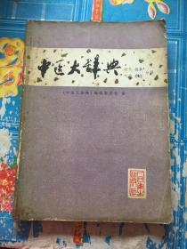 中医大辞典(针灸 推拿 气功 养生)分册