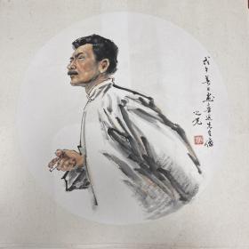 杨之光,尺寸68x68cm