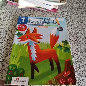 Evan-Moor Smart Start Read & Write 阅读和写作 1年级 美国加州教辅 聪慧启蒙系列英文原版练习册 7岁儿童英语进口图书
