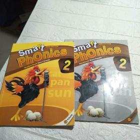 Smart Phonics 2 STUDENT BOOK ,WORKBOOK(附光盘) 2本合售(平装 16开 详情看图)