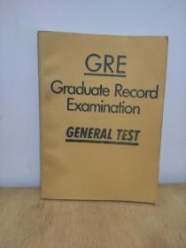 GRE  Graduate  Record  Examination   GENETAL  TEST