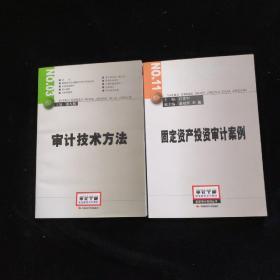 审计技术方法、固定资产投资审计案例【2本合售】