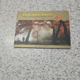 中国吉林市风光明信片《秋》共12张