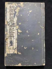 民国12年新闻报排印本  《新闻报馆三十年纪念册》一册全 书前收录新闻报馆历任董事、主笔及各分馆照片,后录梁启超、张謇、唐文治等所作祝辞、论文、译文等百余种 《新闻报》是20世纪与《申报》齐名的上海大报,对《新闻报》三十年发展的小结,亦是对中国早期报业发展的梳理,为难得之史料。 24.5*15.5cm
