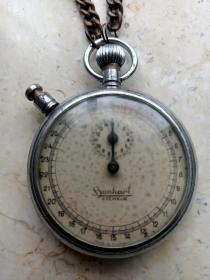 民国德国二战计时秒表可以正常使用。