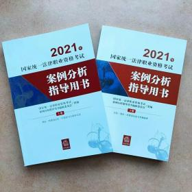 2021案例分析指导用书上下册两本