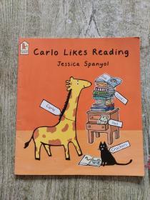 Carlo likes Reading Jessica Spanyol(英文绘本)