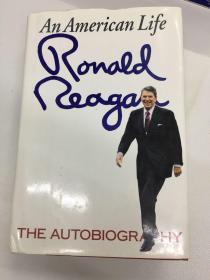 Ronald Reagan An American Life 美国前总统里根的自传(英文原版)