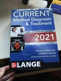 Current Medical Diagnosis And Treatment 2021 目前的医学诊断治疗 60周年纪念版